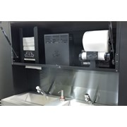 Cabinet 1200 Behind the Mirror Modulo Range 92376BK