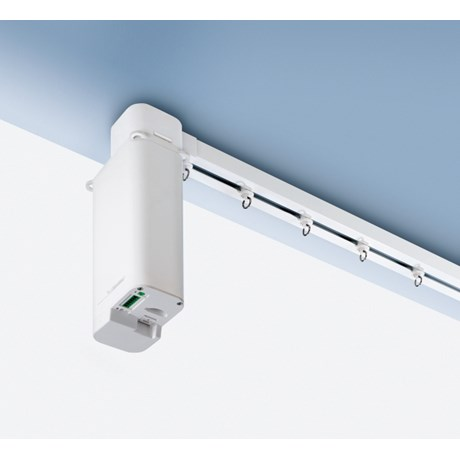 5600 Electric Curtain Track - Curved