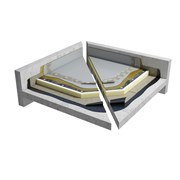 PU Liquid cold applied warm roof system (CNB4PGWPNA_001)