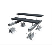 RynoAluTerrace™ Fixed-Down Aluminium Decking System for Balconies
