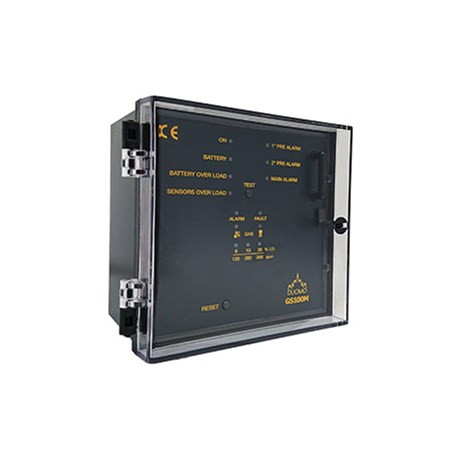 GS100M – 1 Channel Gas Detection Controller