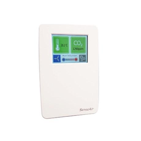 tSENSE EFA – Senseair CO2, Temperature Wall Mounted Monitor