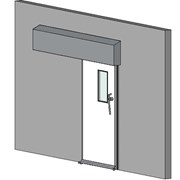 Hermetically Sealing Sliding Door - 60 Min Fire Rating