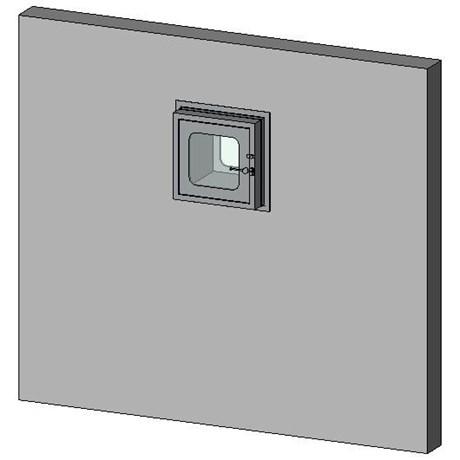 Internal Transfer Hatch - 60 Min Fire Rating