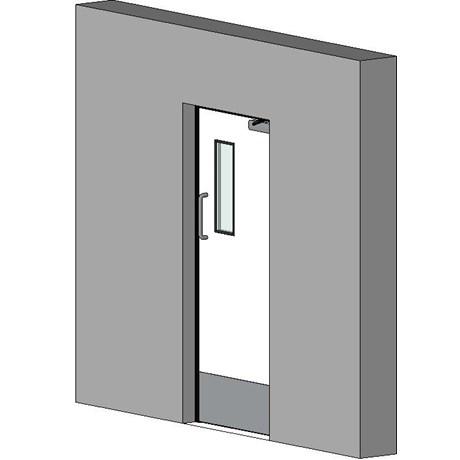 Retail Hinged Single Door