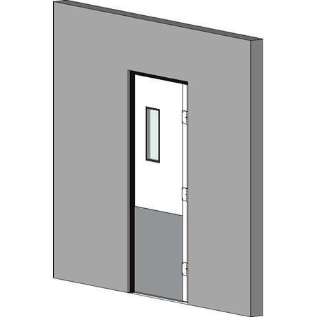 Retail Hinged Single Door Double Action