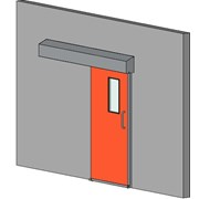 Semi Hermetic Sliding Door