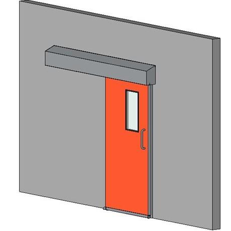 Semi Hermetic Sliding Door
