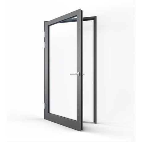 Pure Commercial Single Door Open In