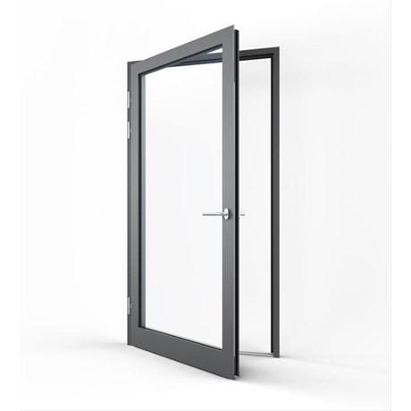 Pure Commercial Double Door Open In