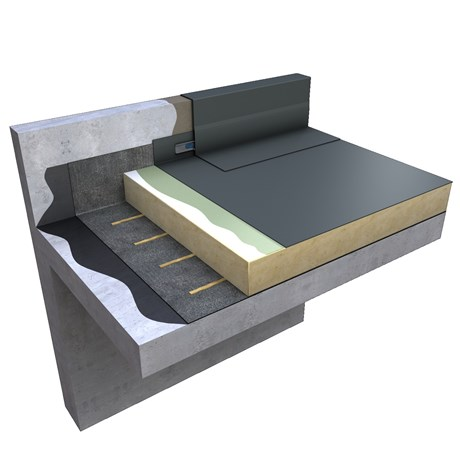 Ecoflex® ADH Warm Roof Adhered Single Ply System