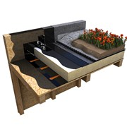 Cityflor® Neo-Bitumen Flame Free Warm Roof Living Roof System