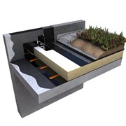 Cityflor® Warm Roof Living Roof System