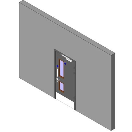 Heathcare Range: Lift/Lobby Doorset