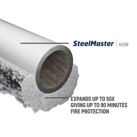 SteelMaster 60SB Protective intumescent coating