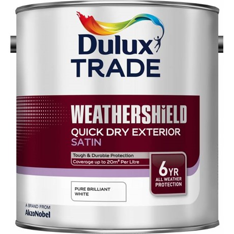 Weathershield Exterior Quick Drying Satin