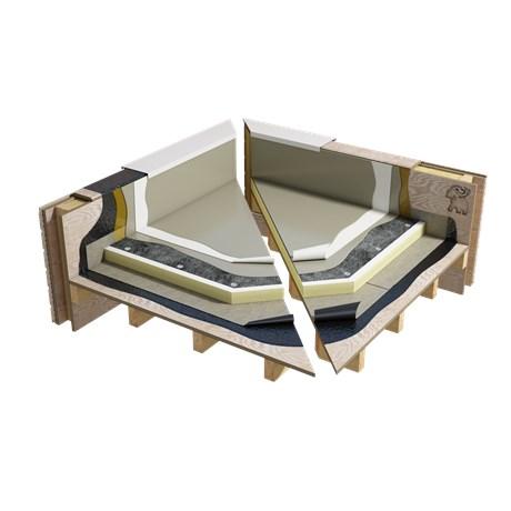 PMMA Liquid cold applied warm roof system (WNB4PGWPNA_001)