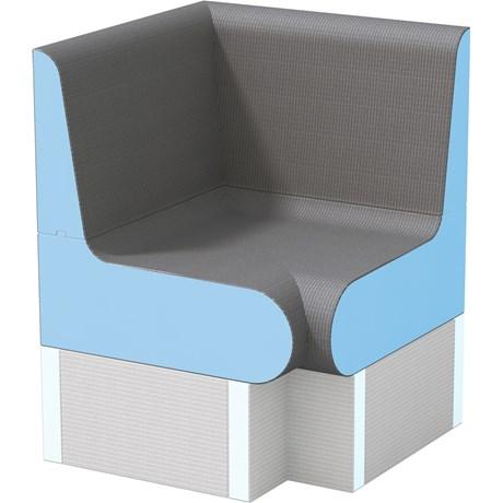 wedi Sanoasa Bellina bench corner element