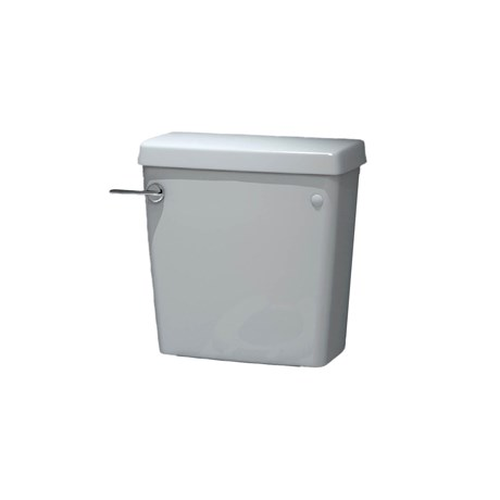 Close Coupled Lever cistern including fittings for RIM50BTW & School pans 4/2.6 L