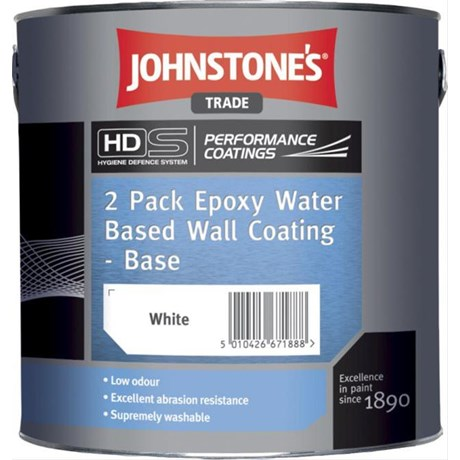 2 Pack Epoxy Water Based Wall Coating (Performance Coatings)