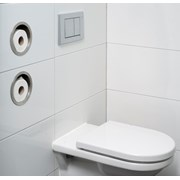 Roll storage round - Toilet roll holder