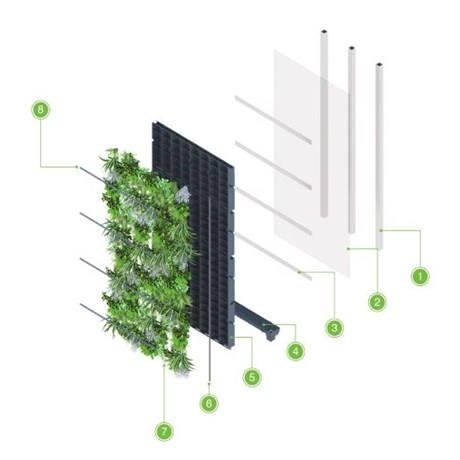 ANS Living Wall System - Steel Frame