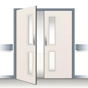 Postformed Double Swing Doorset - Vision Panel 2