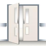 Postformed Double Swing Doorset - Vision Panel 3