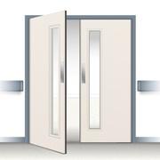 Postformed Double Swing Doorset - Vision Panel 5