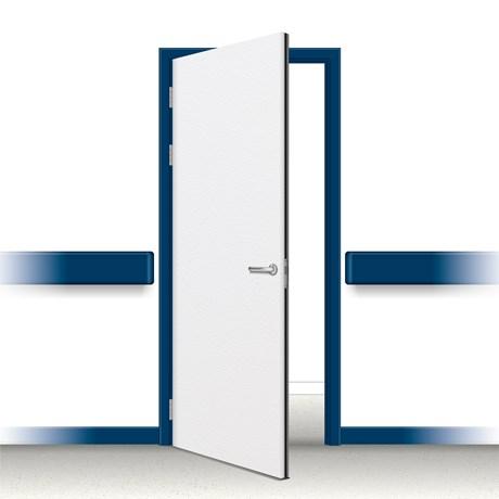 Postformed Single Doorset - Without Vision Panel