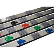 Betatrak 63A Underfloor Powertrack - 2.4 m