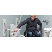 Ropox Wave Toilet Support Arm