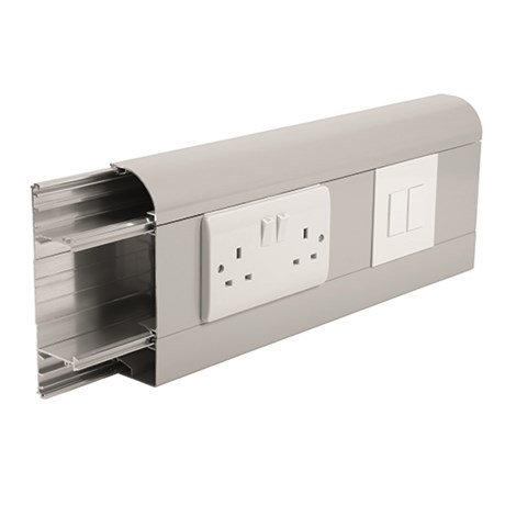 Sterling Curve Profile 2 Aluminium Trunking