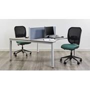 Mesa Plus Single Sided Rectangular Desking