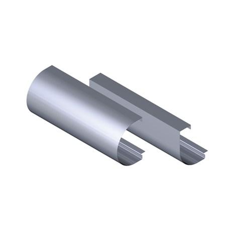 Bullnose Aluminium Fascia Profile