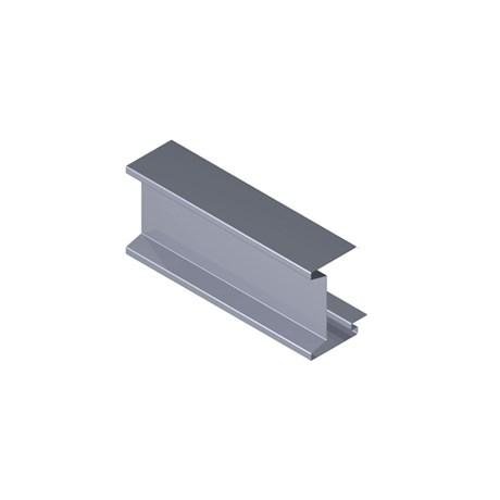 Plain Aluminium Fascia Profile