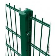 Nylofor 2D Super + Bekafix - Metal mesh fence panel