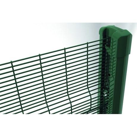 Securifor 3D + Bekafix Ultra - Metal mesh fence panel