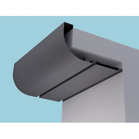 Quadrant Eaves Systems: Fascia Soffit & optional Hidden Gutter