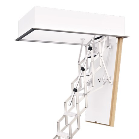 Miniline F30/ F30 Plus/ F60 Fire Rated Concertina Loft Ladder