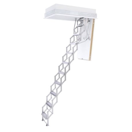 Ecco Concertina Loft Ladder with hatch