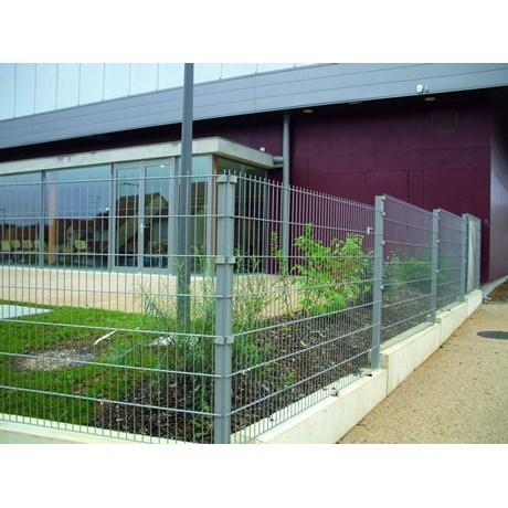 Nylofor 2D Super + Nylofor-Twilfix - Metal mesh fence panel