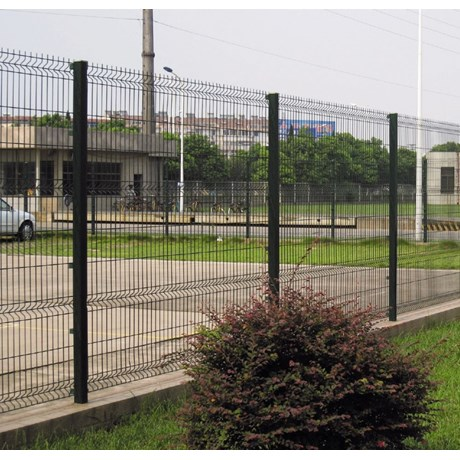 Nylofor 3D Pro XL + Nylofor-Twilfix - Metal mesh fence panel