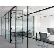 LOFT54 Offset Single Glazed Panel Partition System (Bonded)