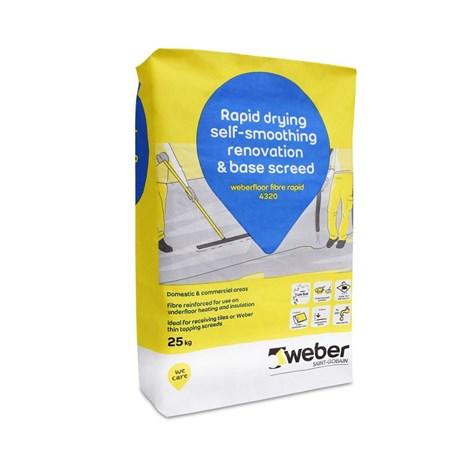 weberfloor fibre rapid 4320