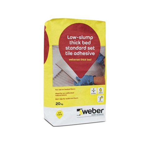 weberset thick bed