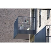 Glide-On Aluminium Cassette Balcony