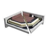 Sopralene Optima C3 GMF & Sopratherm G warm roof granule system on concrete (CNB1PGPSBF_002)
