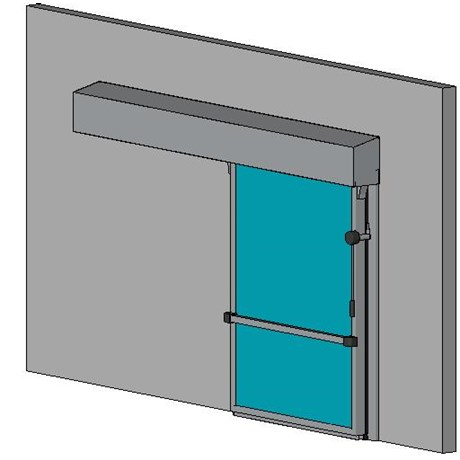 Hermetically Sealing Cold Room Sliding Door