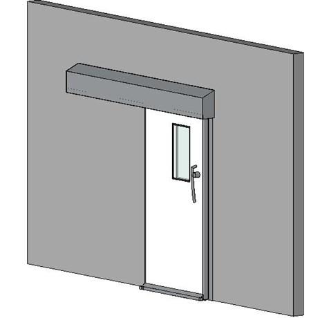 Hermetically Sealing Sliding Door - 30 Min Fire Rating